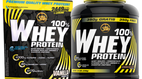 All Stars – 100% Whey Protein, 2350g Dose