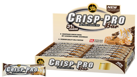 Zoom All Stars – Crisp-Pro Bar, 24 Riegel a 50g