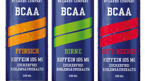 Nocco – BCAA, 330ml Dosen (ohne Koffein)
